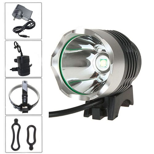LED 1800 Lumens Bike Light Full Set 00