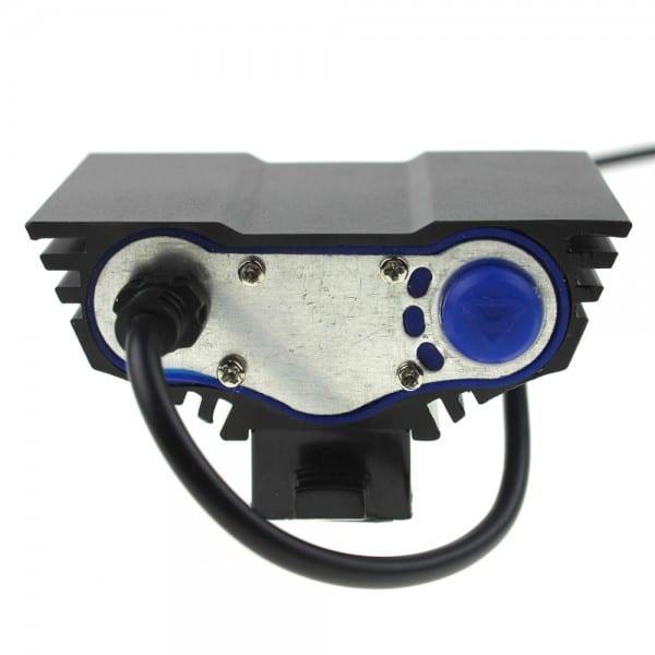 LED 3600 Bike Light Lumens Full Set includes 8800mAh ABS Battery (4)