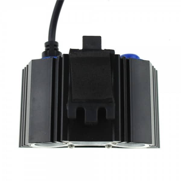 LED 3600 Bike Light Lumens Full Set includes 8800mAh ABS Battery (5)