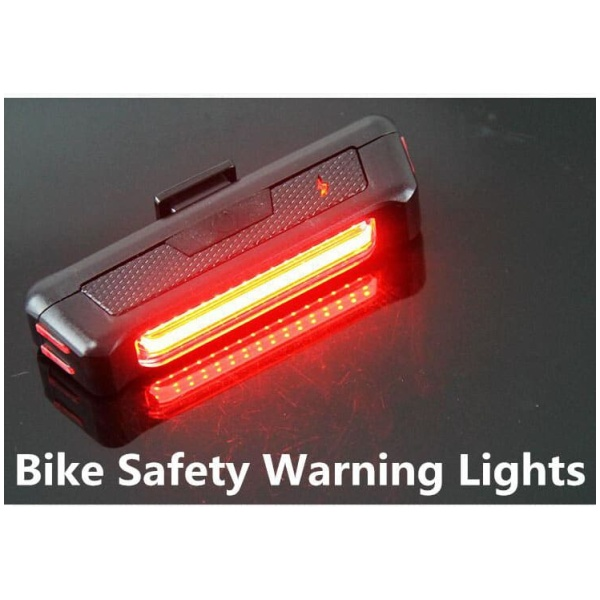 Rear Safety Tail Light, USB Charging, Quick Release (2)