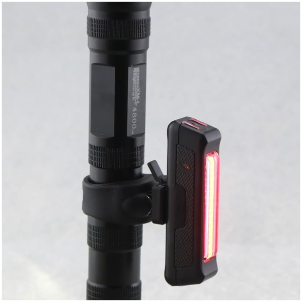 Rear Safety Tail Light, USB Charging, Quick Release